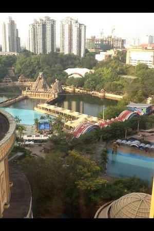 Sunway Pyramid Hotel: View from our room