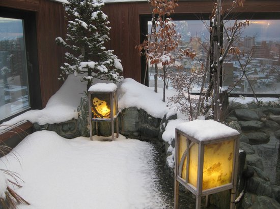 Dormy Inn Hirosaki: Onsen - top floor