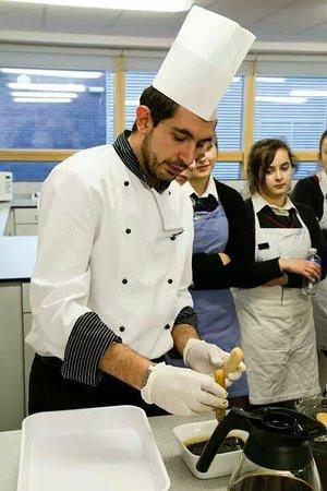L'Ariosto's Restaurant Cowbridge: Our manager and chef salvatore