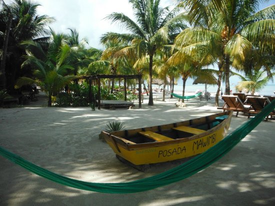 Holbox Hotel Mawimbi : Roll out of bed and onto the beach!