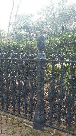 Free Tours by Foot : Cornstalk fence