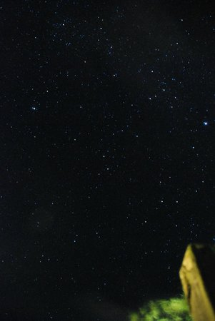 River Restaurant and Vineyard: after dinner find the star glaring in the sky