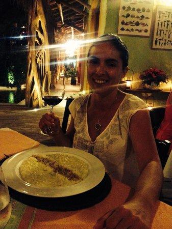 Restaurante La Guaya: Excelente risotto