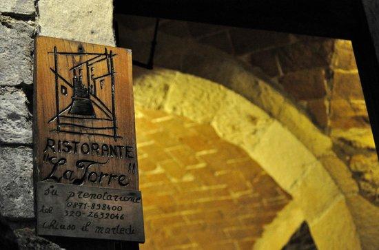 La Torre di Pretoro : INGRESSO LA TORRE