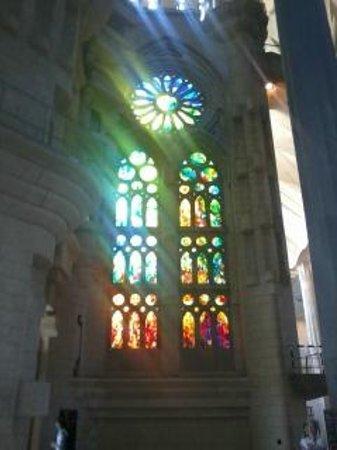 Sagrada Família : Внутри собора