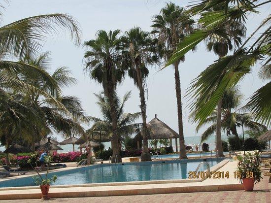 Laguna Beach : piscine