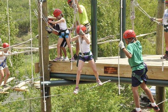 Glenwood Canyon Zipline Adventures: Its a Team Sport