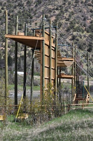 """Glenwood Canyon Zipline Adventures: The """"Shaky Bridge of Doom"""""""