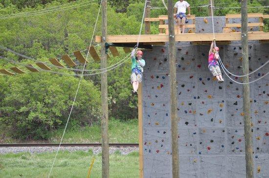 Glenwood Canyon Zipline Adventures: Its a Race!