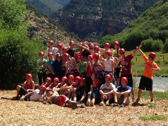 Glenwood Canyon Zipline Adventures: Groups of all sizes welcome