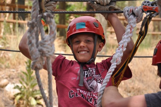 Glenwood Canyon Zipline Adventures : Hangin' out with the guides