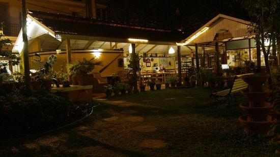 Evening at casa cottage
