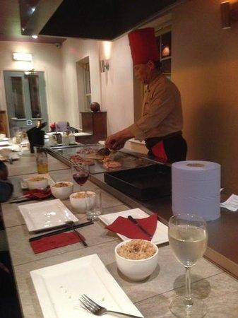 Jinja Tree: entertaining chef