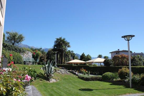 Hotel Tobler : Garten