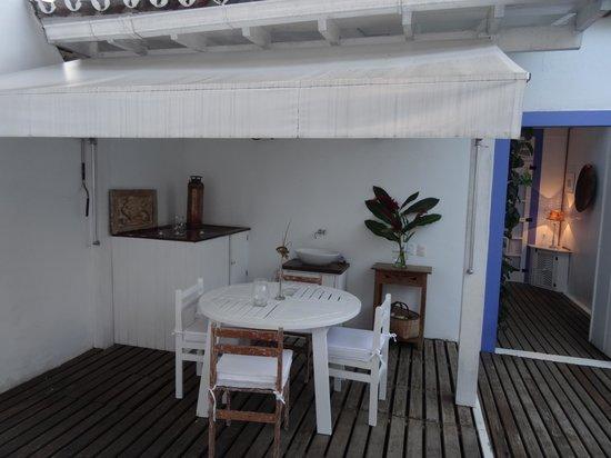 Pousada Casa de Paraty: Внутренний дворик