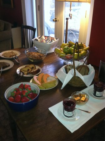200 South Street Inn: Wonderful breakfast