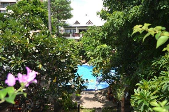 Mermaid's Beach Resort Jomtien: Вид из номера
