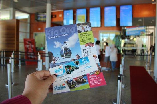 Skyline Rotorua : The one ticket to admit four adults