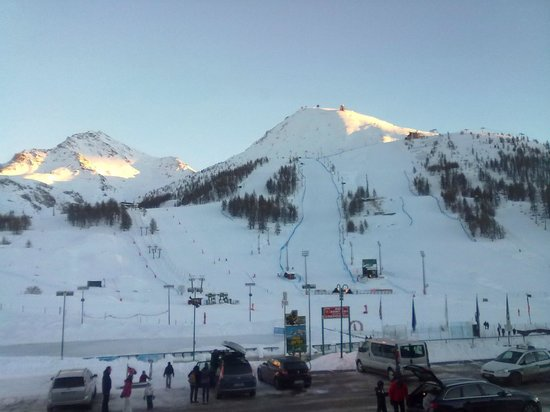 Hotel Du Col : A room with a view