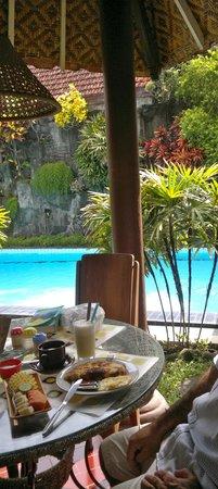 Prambanan Guesthouse: petit déjeuner excellent