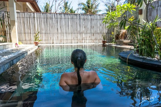 Kelapa Luxury Villas: the private pool