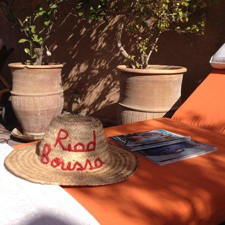 Riad Boussa: terasse