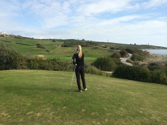 Alcaidesa Links Golf Course: Breathtaking view - hole 12