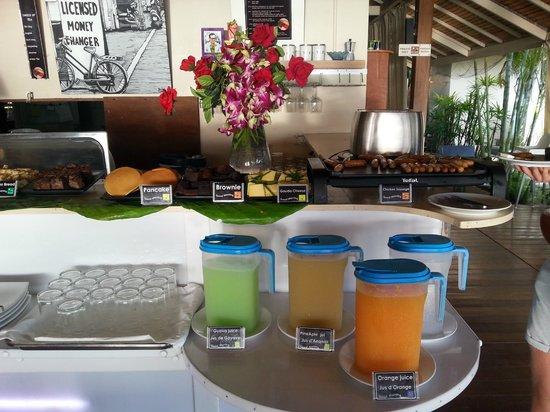 Mama Beach Residence: le buffet