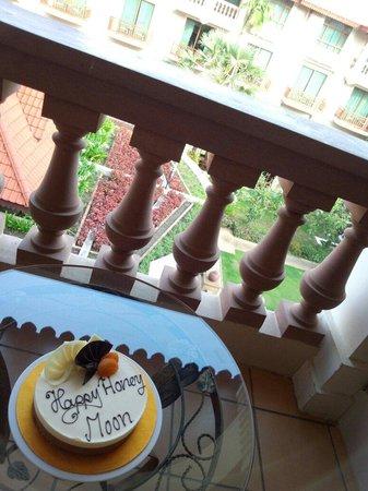 Sokha Angkor Resort: ケーキ