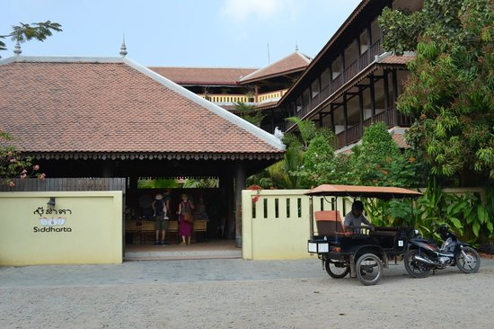 Siddharta Boutique Hotel : View on arrival