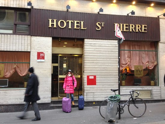 Hotel Saint Pierre : esterno
