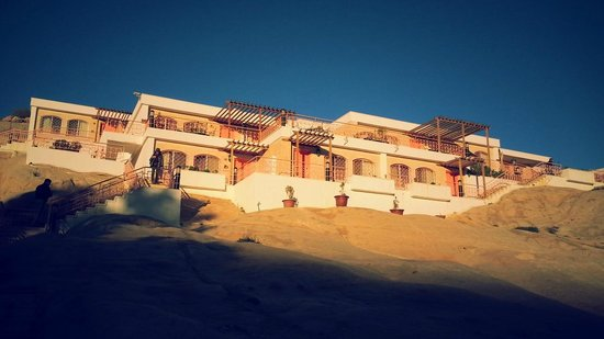 Petra Guesthouse: Chalet rooms rock
