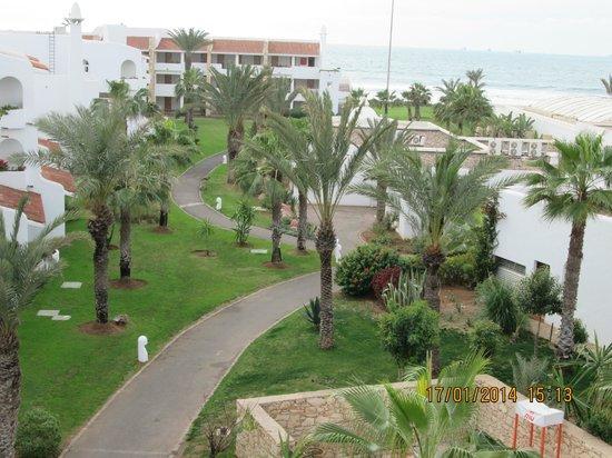 ClubHotel Riu Tikida Dunas : Sea view from our balcony