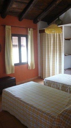 Casas La Escalera: dormitorio arriba