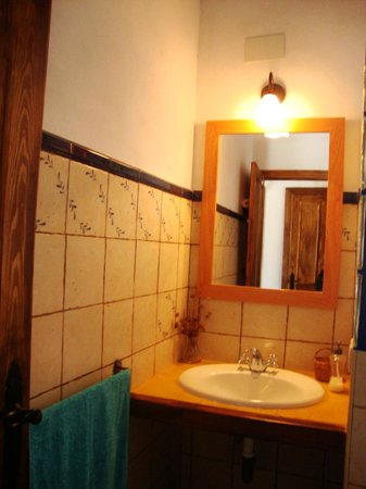 Casas La Escalera: baño arriba