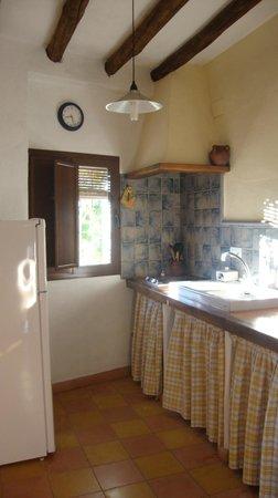 Casas La Escalera: cocina abajo