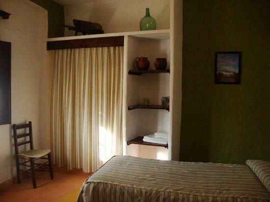 Casas La Escalera: habitación abajo