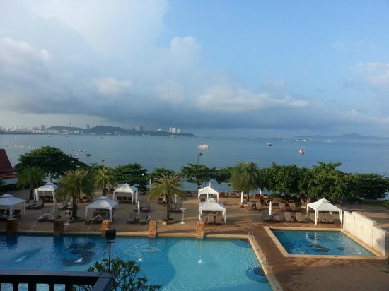 Dusit Thani Pattaya: view from our room