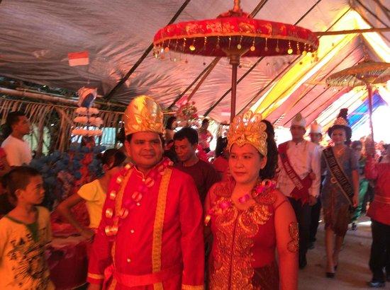 Gangga Island Resort & Spa: une cérémonie villageoise, le 31 janvier