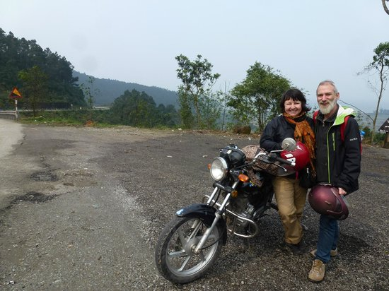 us with one of our motorbikes on the hai van pass picture of le family rider hue tripadvisor. Black Bedroom Furniture Sets. Home Design Ideas
