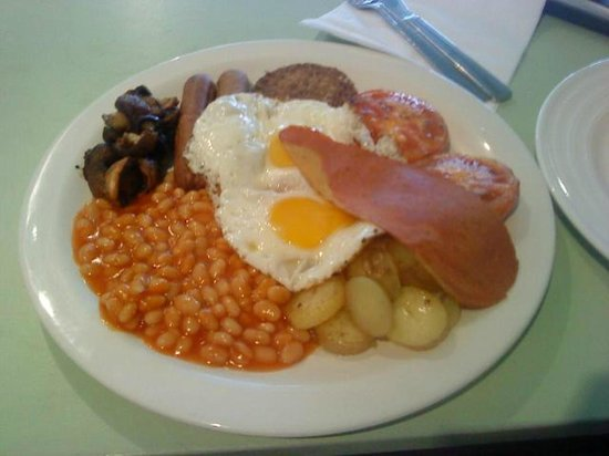 the glorious vege full english from green cuisine - picture of