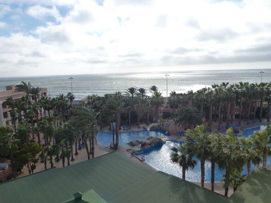 Playacapricho Hotel: vistas habitación