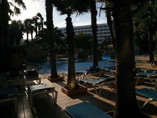 Playacapricho Hotel : la piscina