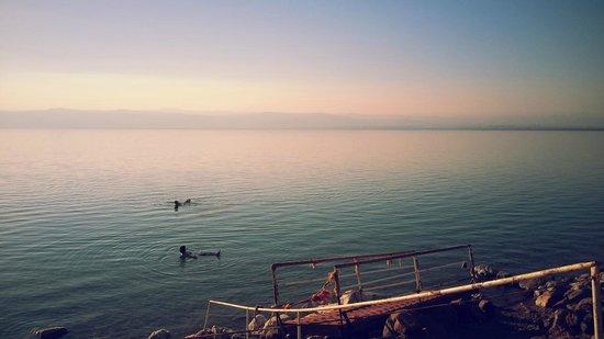 Movenpick Resort & Spa Dead Sea: floaters!