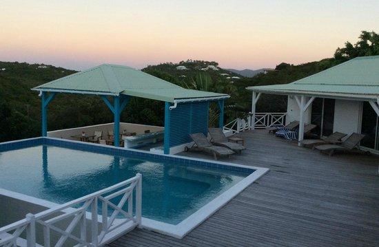 Oasis Creole: piscine
