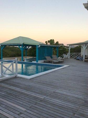 Oasis Creole: terrasse