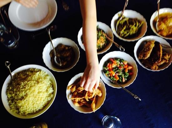 Kandy Samadhi Centre: some of the great food at samadhi