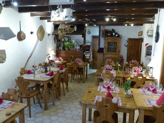 La R'mize : Salle du restaurant