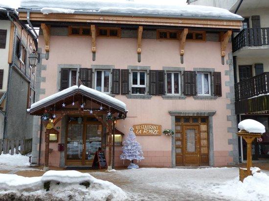 La R'mize : Facade du restaurant