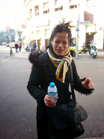Alternative Berlin Tours: Our enthusiastic guide Marie